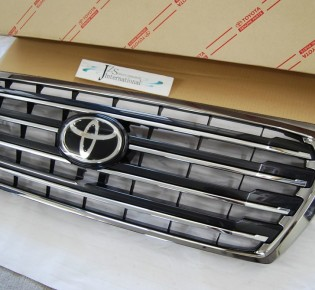 Решетка радиатора TRD SUPERIOR BLACK EDITION. — Toyota Land Cruiser, л., года на DRIVE2