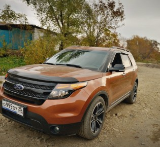 Отзыв Ford Explorer i 4WD (Форд Эксплорер) г. — otto winter